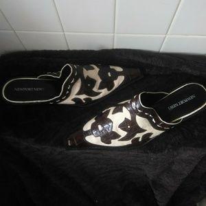 Sling back slide in cowgirl shoes NWOT